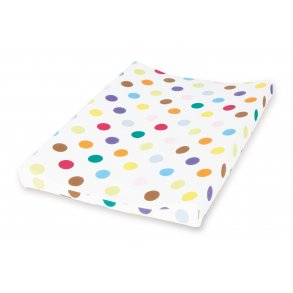 changing mat covers Pinolino 74969-7 changing mat cover Rosa, Color blanco, Pattern, Algod/ón