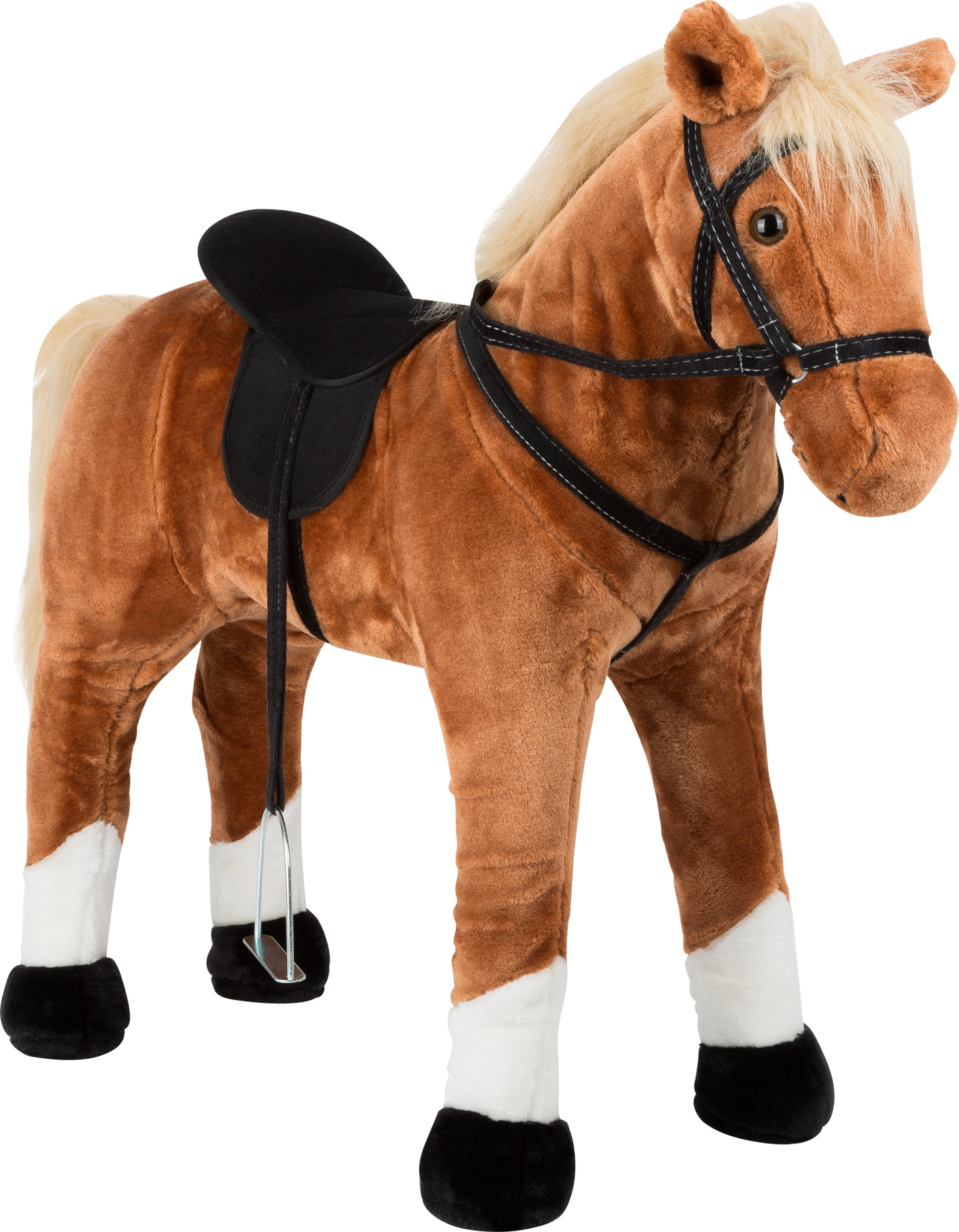 Small Foot Standing Hobby Horse With Sound Brown Hobby And Rocking Horses Import For Kids Aps